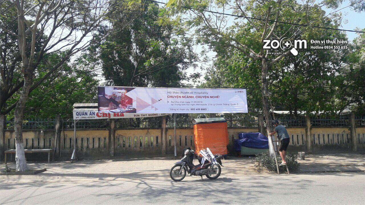 in bạt hiflex làm băng rôn quảng cáo tại Đà Nẵng
