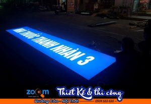 Thi công bảng hiệu quán nhậu tại Đà Nẵng