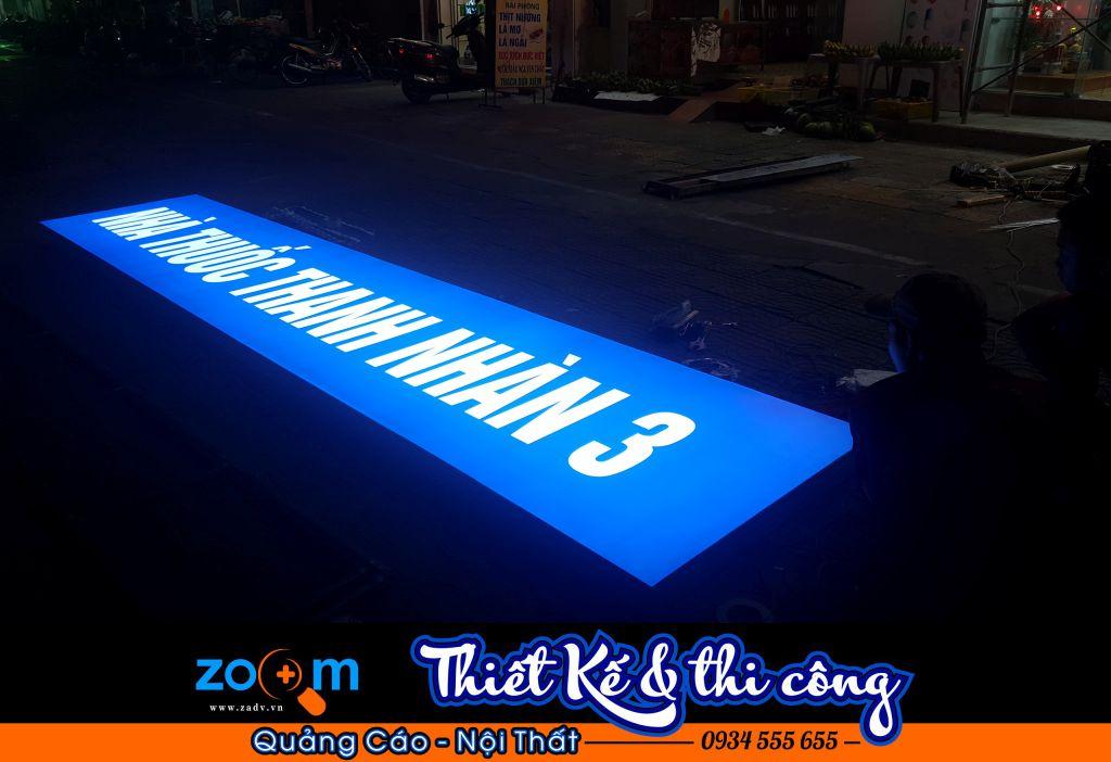 Thi công bảng hiệu quảng cáo hộp đèn tại Đà Nẵng