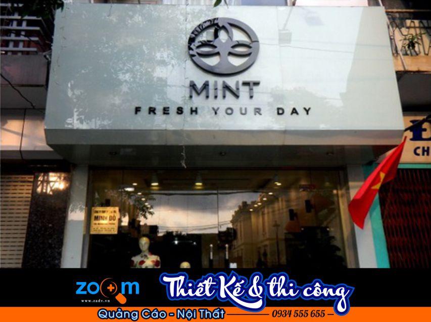 Thi công bảng hiệu quảng cáo shop thời trang tại Đà Nẵng