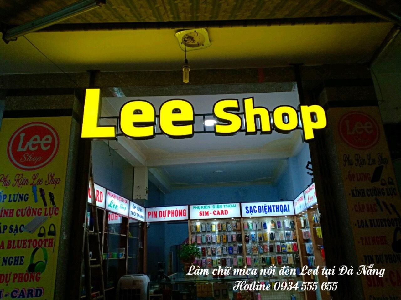 Làm chữ mica nổi đẹp tại Đà Nẵng
