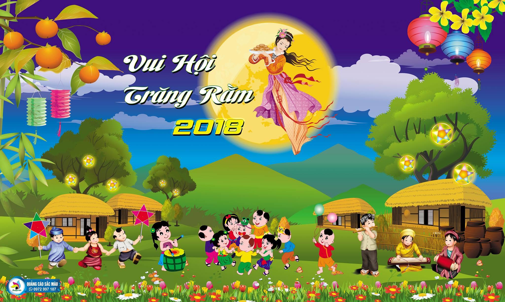 Đơn vị nhận làm backdrop trung thu tại Đà Nẵng