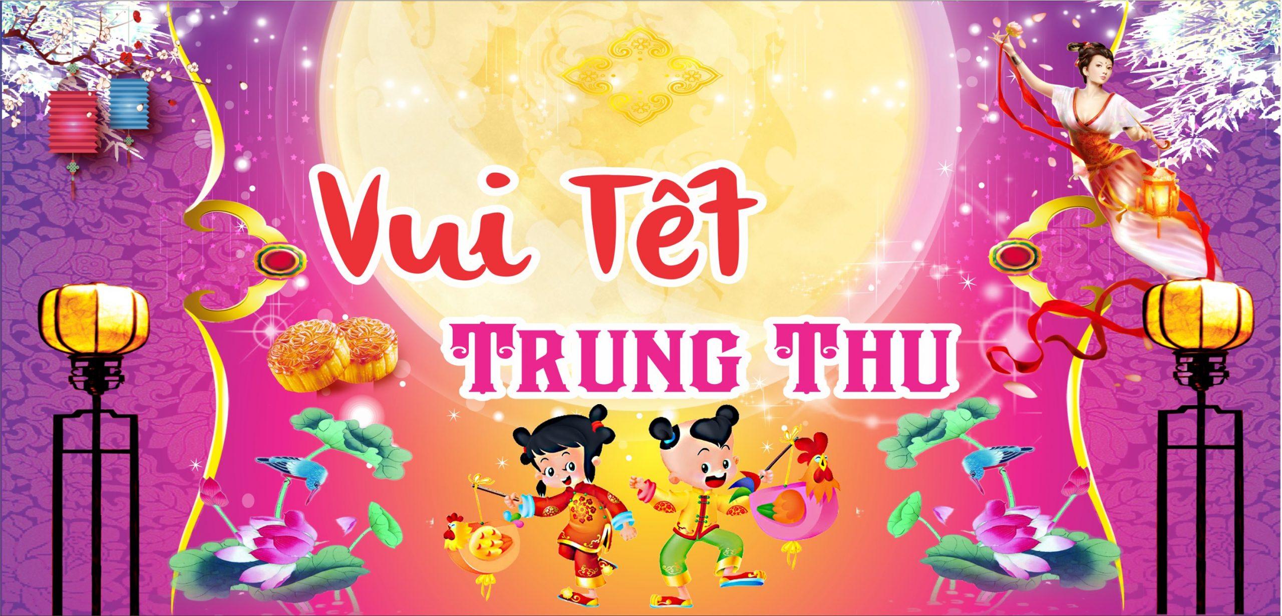 In backdrop Trung Thu giá rẻ ở Đà Nẵng