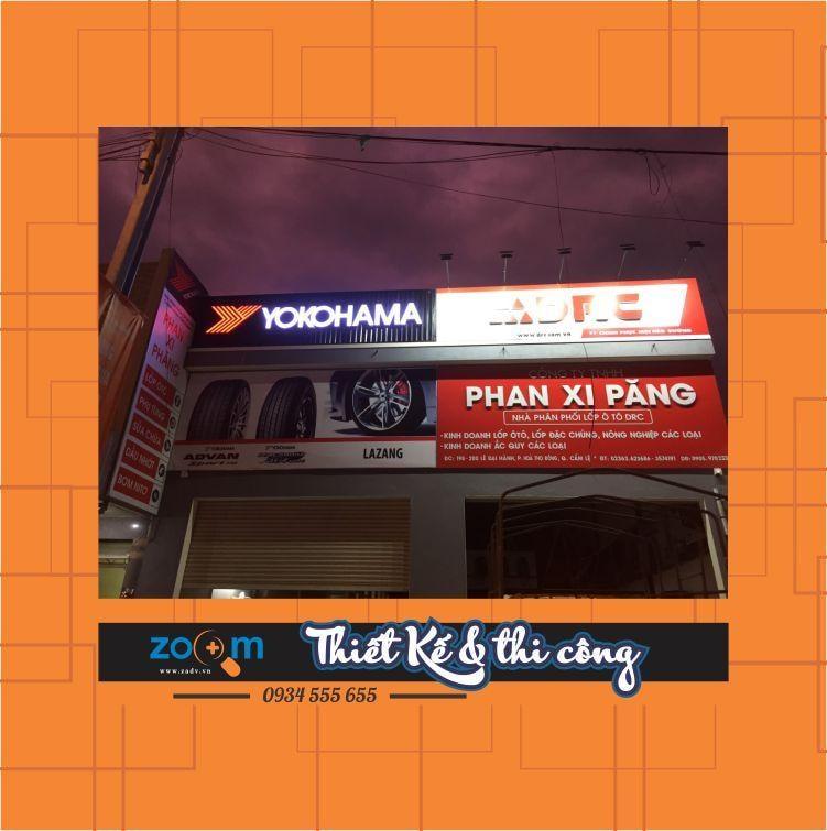 Làm bảng hiệu tôn quận Hải Châu Đà Nẵng