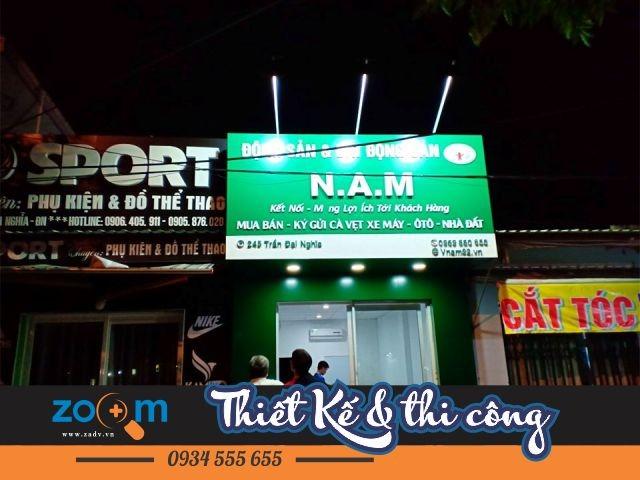 thiết kế thi công bảng hiệu ALu giá rẻ tại Đà Nẵng