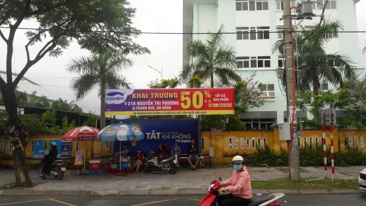 Dịch vụ treo băng rô ở quận Hải Châu Đà Nẵng