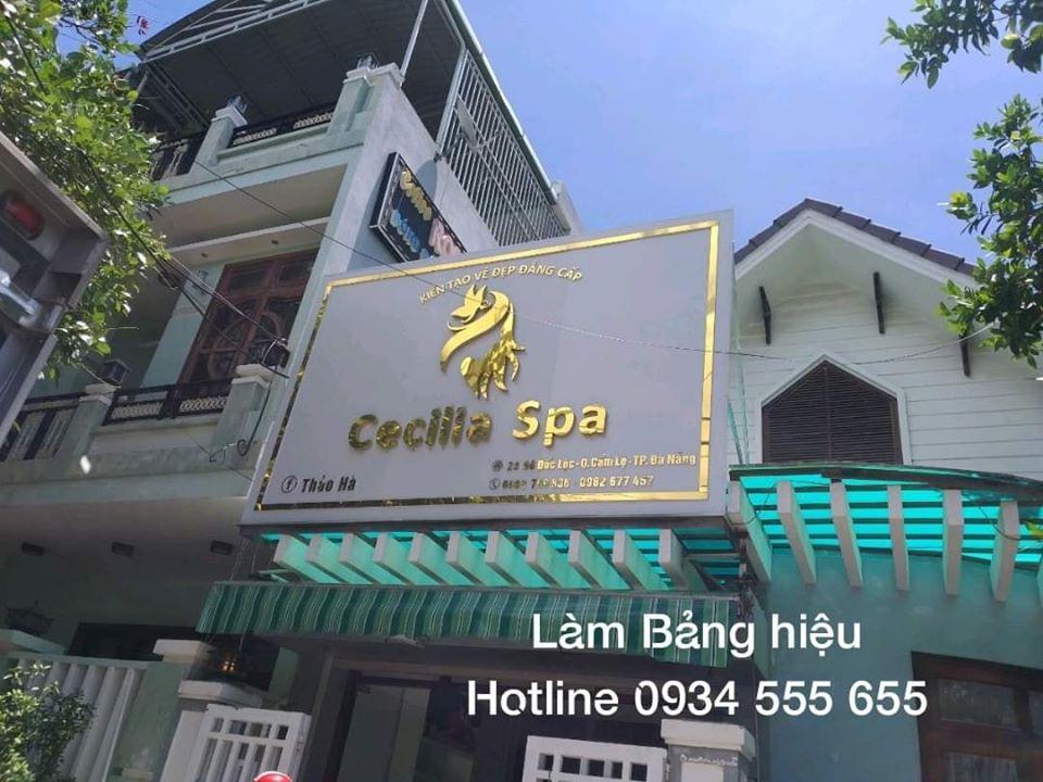 Làm bảng hiệu spa tại Đà Nẵng