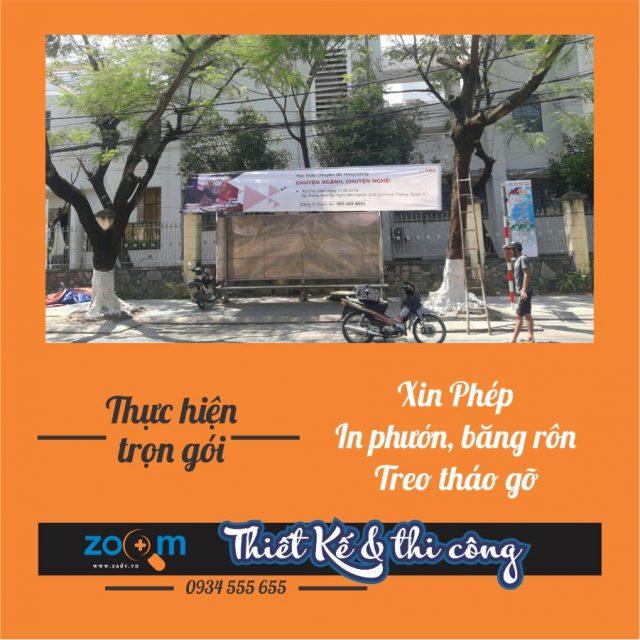 Dịch vụ treo băng rôn chuyên nghiệp tại Đà Nẵng