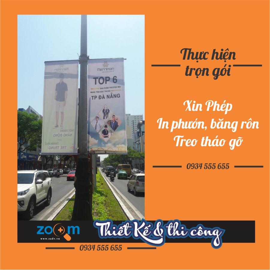 Dịch vụ treo phướn đẹp tại Đà Nẵng