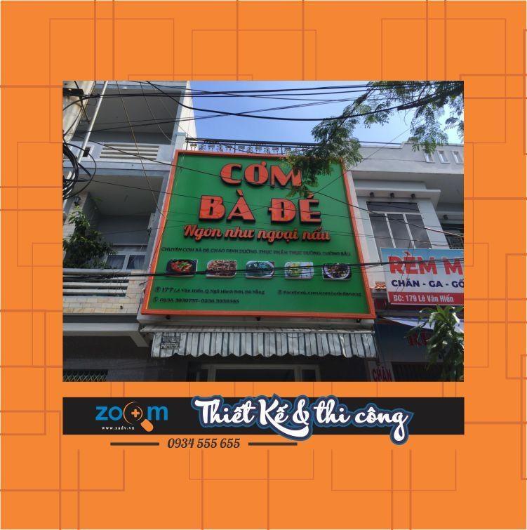 Thi công bảng alu tại Đà Nẵng