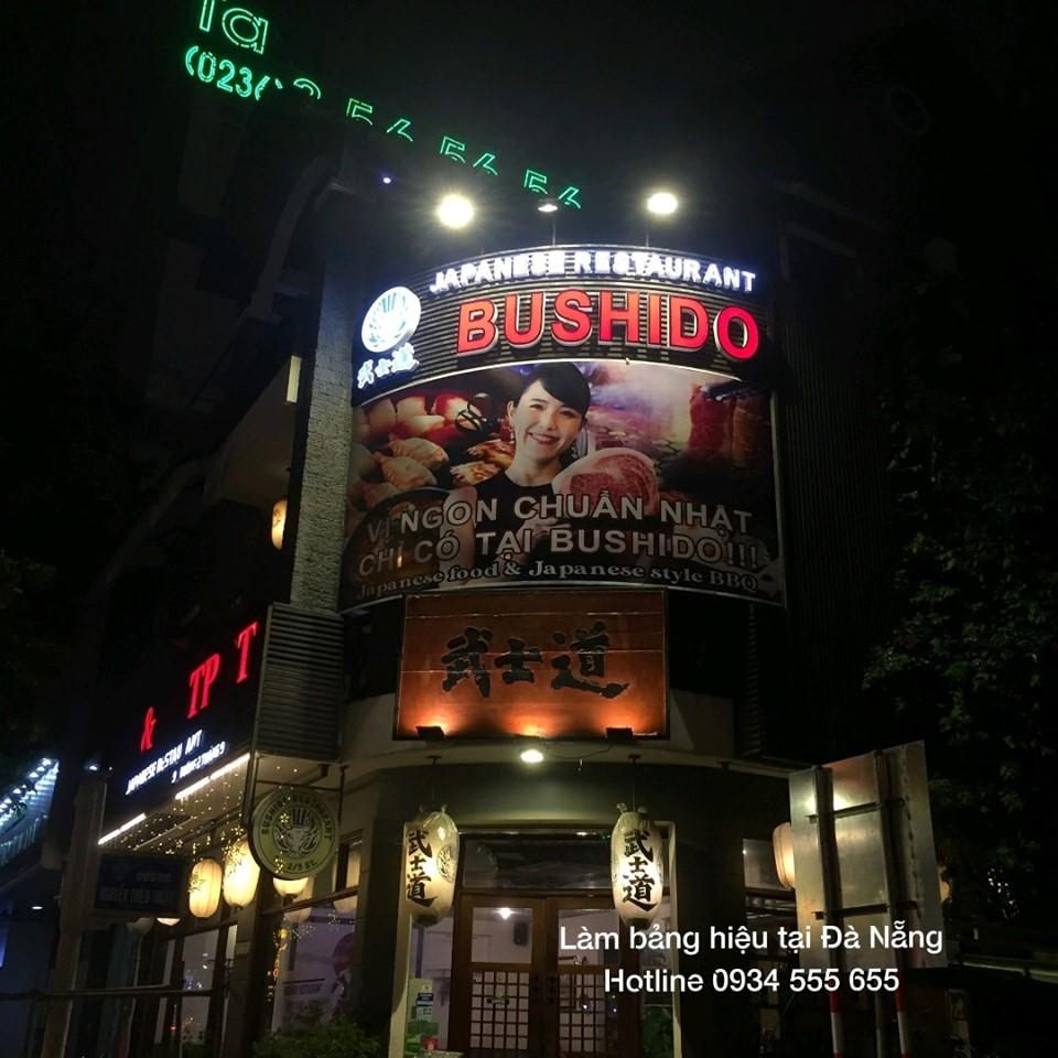 Thi công bảng hiệu ALu Mica tại Đà Nẵng
