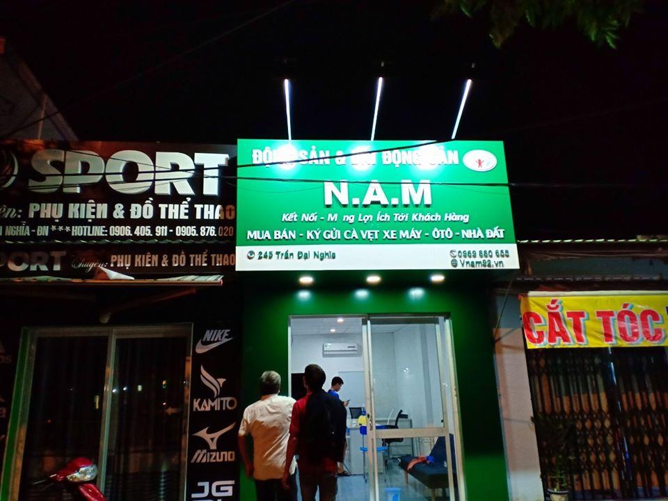 Thi công bảng hiệu đẹp tại Đà Nẵng