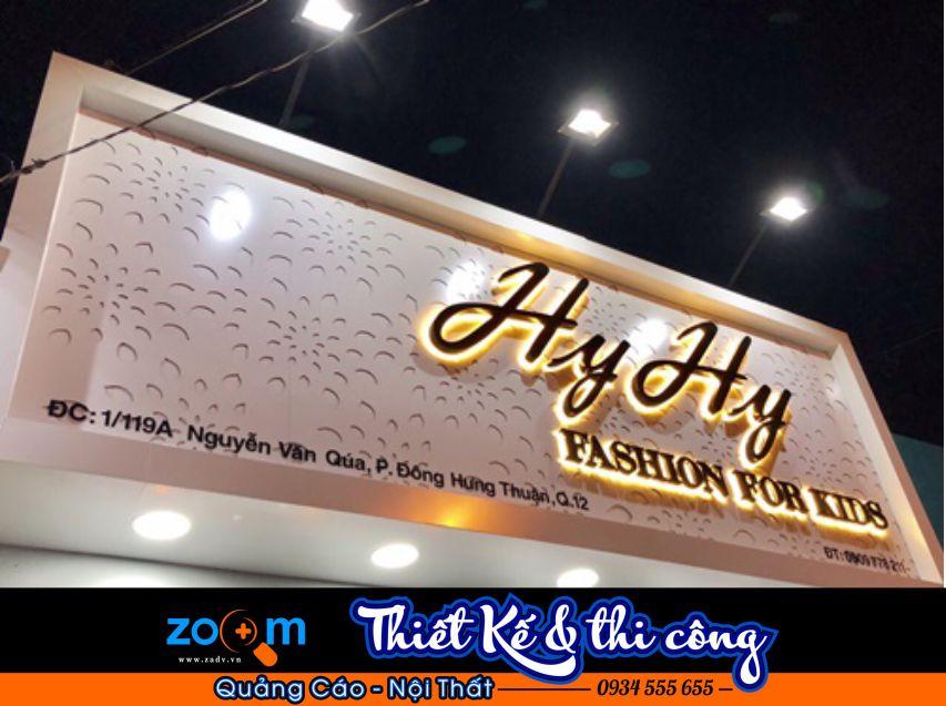 Bảng hiệu shop thời trang tại Đà Nẵng