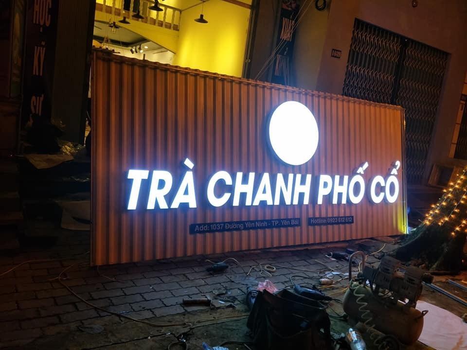 Chữ mica nổi đèn LED tại Đà Nẵng
