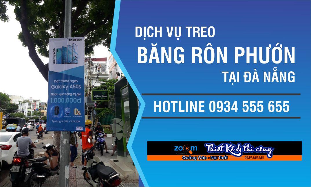Treo phướn giá rẻ ở Đà Nẵng