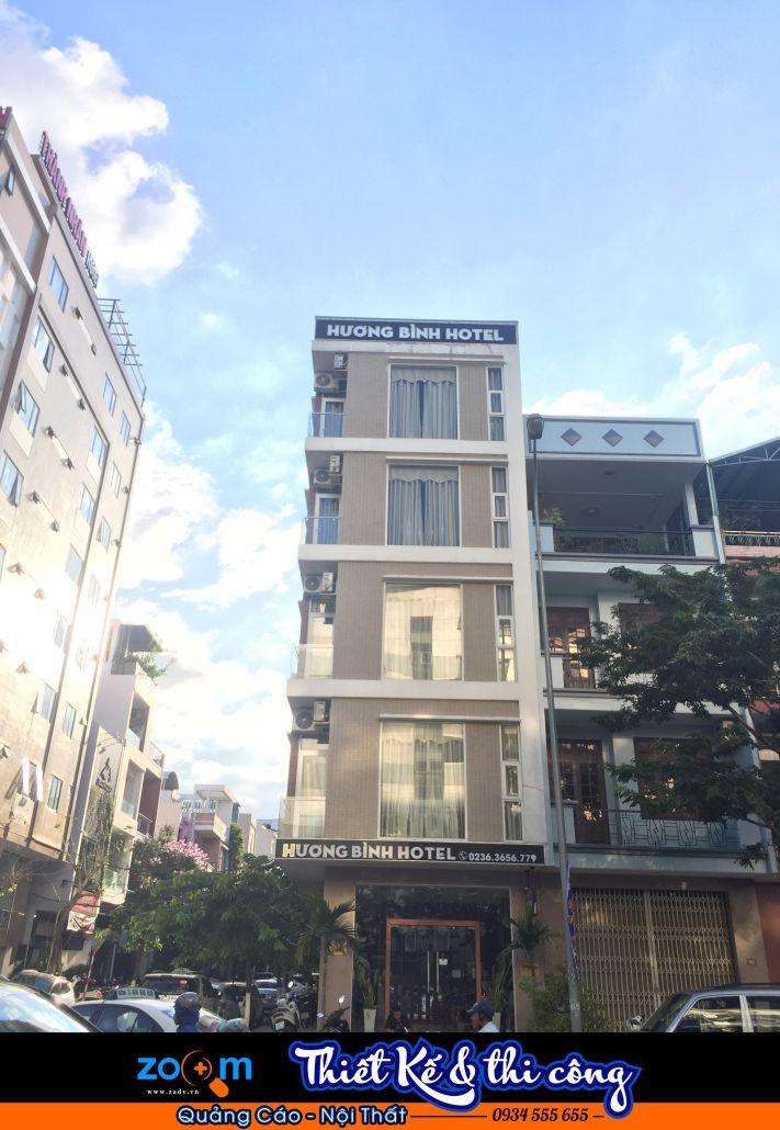 Làm biển hiệu khách sạn nhà hàng tại Đà Nẵng