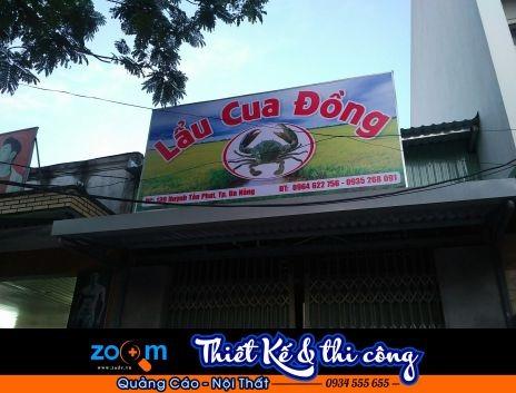 làm bảng hiệu quán nhậu tại Đà Nẵng