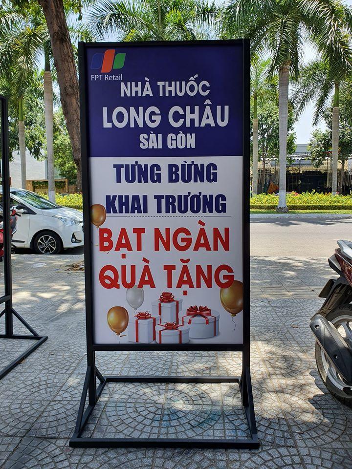 Standee khung sắt tại Đà Nẵng giá rẻ