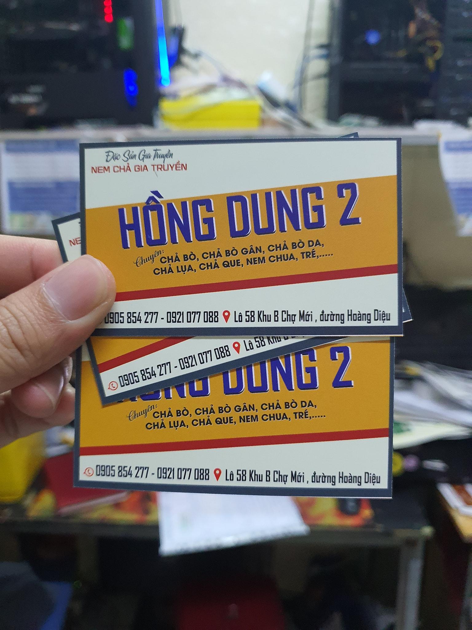 in name card tại Đà Nẵng giá sỉ