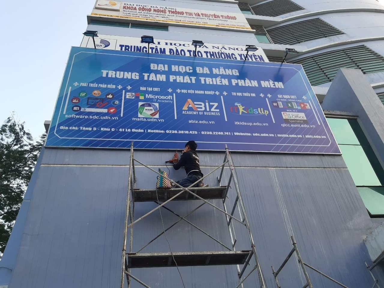 in hiflex làm pano quảng cáo tại Đà Nẵng