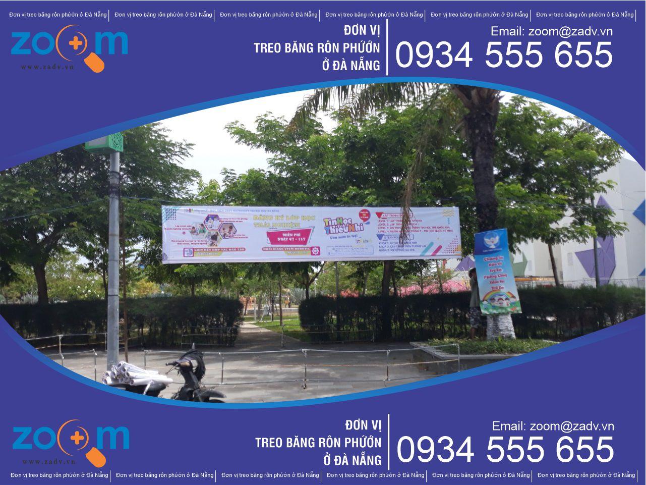 In băng rôn bạt hiflex giá rẻ tại Đà Nẵng